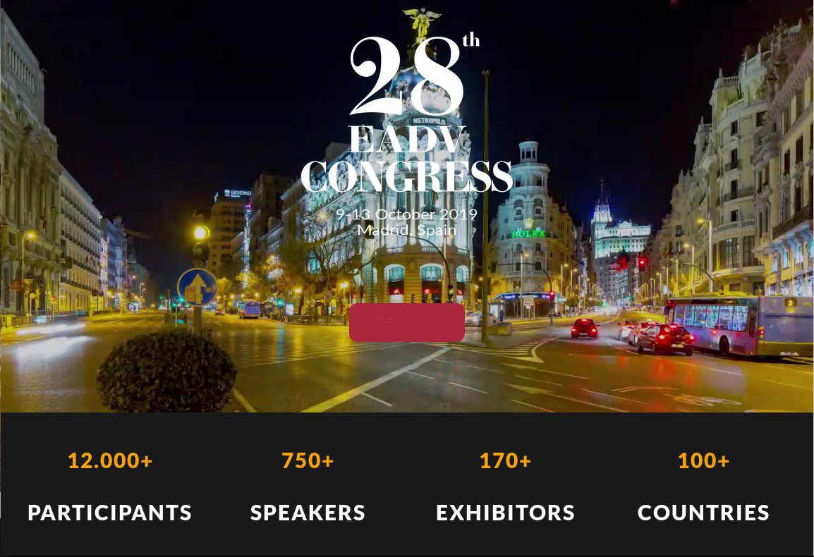 EADV 2019 Congress in Madrid