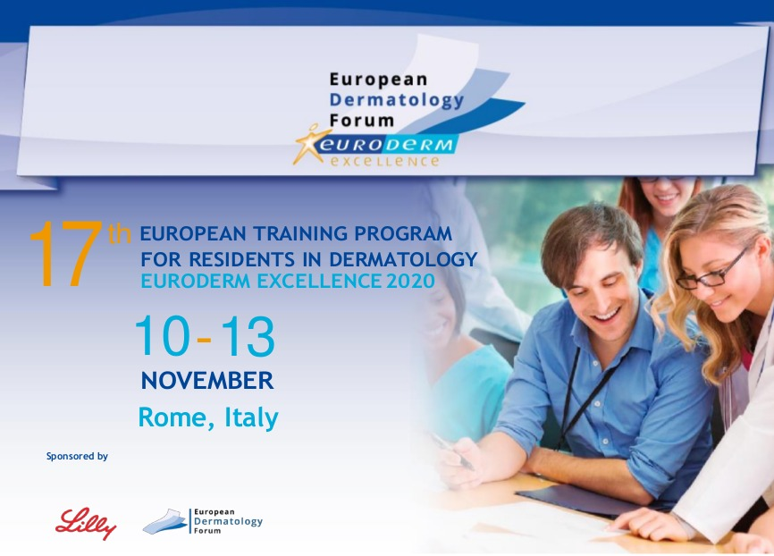 17th Edition of Euroderm Excellence Training Program